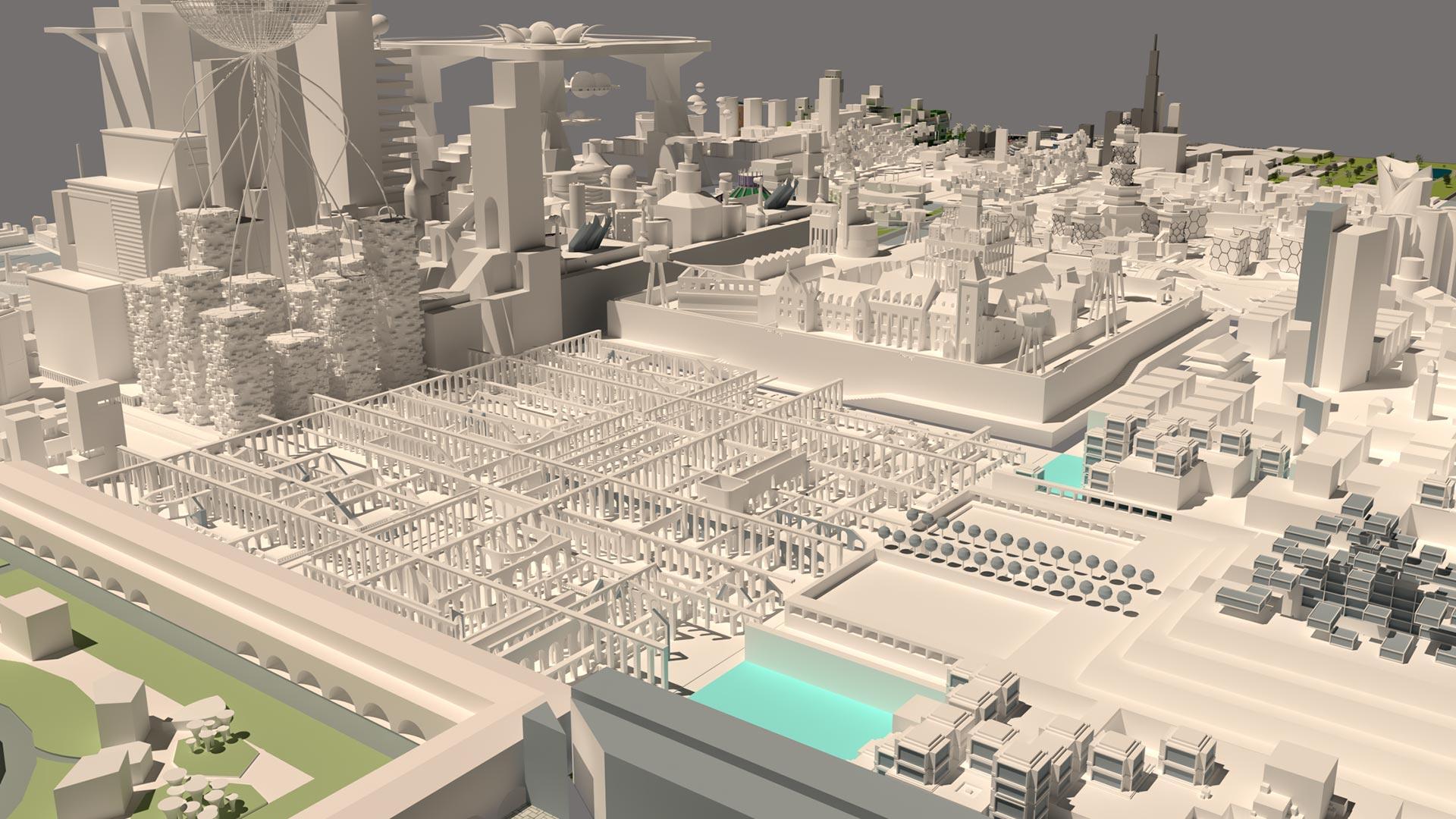 City of Fragments Render